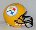 Antonio Brown Autographed Pittsburgh Steelers F/S Yellow TB Helmet- JSA W Auth