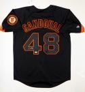 Pablo Sandoval Autographed Black San Francisco Giants Jersey- Tristar Auth