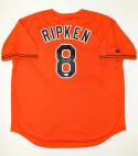 Cal Ripken Jr. Autographed Orange Baltimore Orioles Jersey- JSA Witnessed Auth
