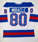 1980 Miracle On Ice Team USA Autographed White Jersey W/ 18 Sigs- JSA W Auth