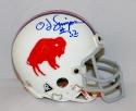 O. J. Simpson Autographed Buffalo Bills Riddell TB Mini Helmet-JSA Authenticated