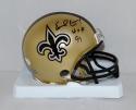 Earl Campbell Autographed New Orleans Saints Mini Helmet W/ HOF- JSA W Auth