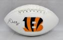 Andy Dalton Autographed Cincinnati Bengals Logo Football- JSA Witnessed Auth