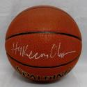 Hakeem Olajuwon Autographed *Silver Official NBA Spalding Basketball- JSA W Auth