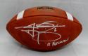 Johnny Manziel Signed Official Wilson NCAA Leather Game Football- JSA W Auth