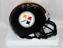 Ben Roethlisberger Autographed Pittsburgh Steelers Mini Helmet- JSA W Auth