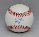 Manny Machado Autographed Rawlings OML Baseball- JSA Witnessed Authenticated
