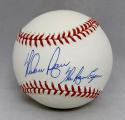 Nolan Ryan Autographed Rawlings OML Baseball With The Ryan Express and JSA Auth