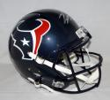 Will Fuller Autographed Houston Texans Full Size Speed Helmet-JSA Witnessed Auth