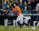 Jose Altuve Autographed Houston Astros 8X10 Horizontal Batting Photo- JSA W Auth