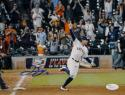 George Springer Signed Houston Astros 8X10 Rounding Bases Photo- JSA Authenticated