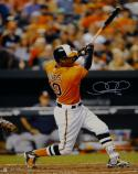 Adam Jones Signed Orioles 16x20 Swinging Vertical Photo- Fanatics Authenticated