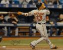 Manny Machado Signed Orioles 16x20 Batting Swing Orange Glove Photo- JSA W Auth