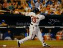 Manny Machado Signed Orioles 16x20 Batting Swing White Glove Photo- JSA W Auth