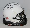 Curt Warner Autographed Penn State Nittany Lions Mini Helmet-JSA W Authenticated