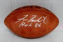 Fran Tarkenton Autographed NFL Authentic Football With HOF- JSA Witnessed Auth