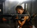 Norman Reedus Signed Walking Dead 16x20 Crouching W/ Crossbow Photo *S-JSA Auth