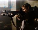 Norman Reedus Signed Walking Dead 16x20 Standing With Crossbow Photo- JSA Auth