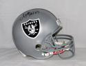Marcus Allen Autographed Oakland Raiders F/S Helmet W/ HOF- JSA W Authenticated