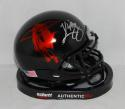 Kliff Kingsbury Autographed Texas Tech Red Raiders Logo Mini Helmet- JSA W Auth