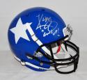 Kliff Kingsbury Signed Texas Tech F/S Lone Star Helmet W/ Guns Up- JSA W Auth