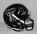 Kliff Kingsbury Signed Texas Tech Raiders F/S Camo Helmet W/ Guns Up- JSA W Auth