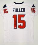 Will Fuller Autographed White Pro Style Jersey- JSA Witnessed Authenticated