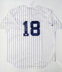Don Larsen Autographed New York Yankees Majestic P/S Jersey W/ WSPG- JSA Auth