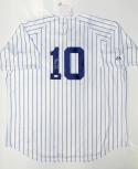 Tony Kubek Autographed New York Yankees P/S Jersey With ROY- JSA Authenticated