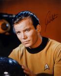 William Shatner Signed Star Trek 16x20 Captain Kirk Up Close Photo- JSA W Auth