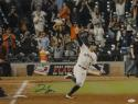 George Springer Autographed Houston Astros 16x20 Rounding Bases Photo-JSA W Auth