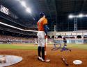 George Springer Signed Houston Astros 8X10 Standing On-Deck Photo- JSA W Auth