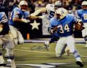 Earl Campbell Autographed Oilers 16x20 Running Against Cowboys Photo- JSA W Auth