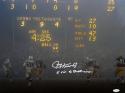 Paul Hornung Autographed Green Bay 16x20 Scoreboard Photo W/ 5 TDs- JSA W Auth