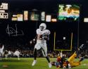 Vince Young Autographed *Silver Texas 16x20 Running For TD Photo- Tristar Auth
