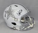 Dak Prescott Autographed Dallas Cowboys Full Size ICE Speed Helmet- JSA W Auth