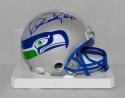 Kenny Easley Autographed Seattle Seahawks Mini Helmet- JSA Witnessed Auth