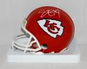 Eric Berry Autographed *White Kansas City Chiefs Mini Helmet- JSA Witnessed Auth