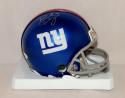 Brad Wing Autographed New York Giants Mini Helmet- JSA Witnessed Auth