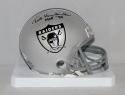 Ted Hendricks Autographed Oakland Raiders TB Mini Helmet With HOF- JSA W Auth