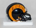 Orlando Pace Autographed Los Angeles Rams TB Mini Helmet With HOF- JSA W Auth