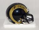 Orlando Pace Autographed Los Angeles Rams Mini Helmet W/ HOF- JSA Witnessed Auth