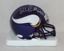 John Randle Autographed Minnesota Vikings Mini Helmet W/ HOF- JSA W Auth