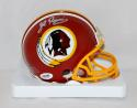 John Riggins Autographed Washington Redskins Mini Helmet- PSA/DNA Authenticated