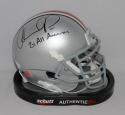 Orlando Pace Autographed Ohio State Buckeyes Mini Helmet- JSA Witnessed Auth