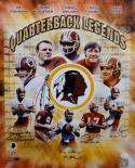 Quarterback Legends Autographed 16x20 Redskins Photo W/ Insciptions- JSA W Auth