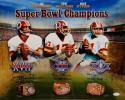 Theismann Williams Rypien Signed Redskins 16x20 SB Champions Photo- JSA W Auth