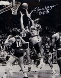 Elvin Hayes Autographed Washington Bullets 16x20 Rebound Photo W/ HOF-JSA W Auth