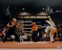 William Zabka Ralph Macchio Autographed 16x20 Karate Kid Photo- PSA/DNA Auth
