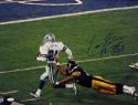 Larry Brown Autographed Dallas Cowboys 16x20 Running Photo W/ SB MVP- JSA W Auth